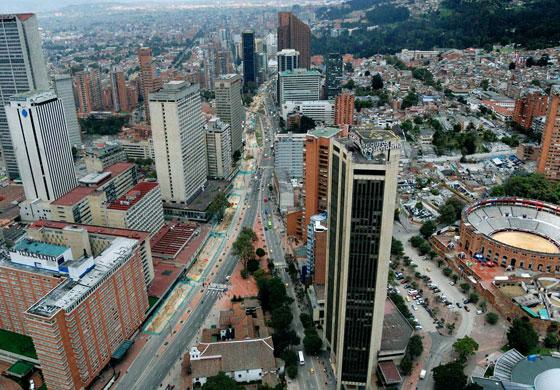 Богота - найбільше місто в Південній Америці